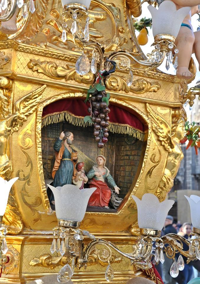 """Festa di Sant'Agata, """"ci fu o non ci fu"""" l'annacata sotto la casa del boss?"""