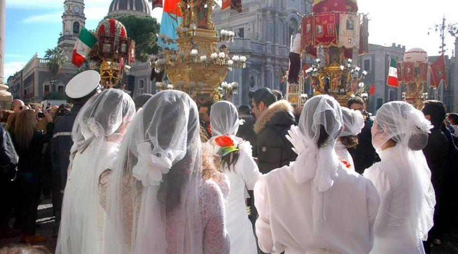 Festa di Sant'Agata: le 'ntuppatedde, quando la tradizione è trasgressione