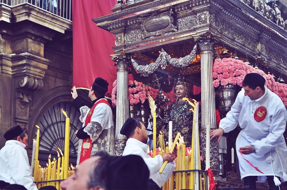 Sant'Agata, misure di sicurezza per il parroco del Duomo e il capo vara