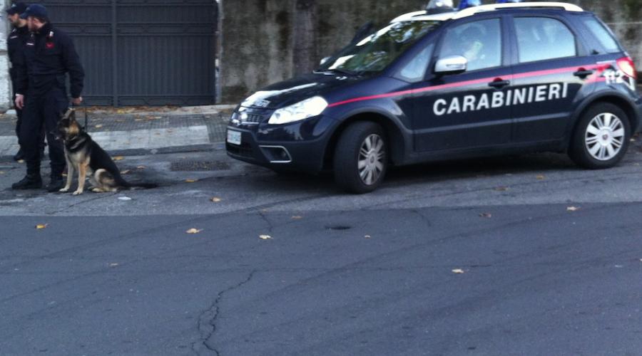 """Giarre, nuovo """"giro di vite"""" dei carabinieri: 5 denunciati"""