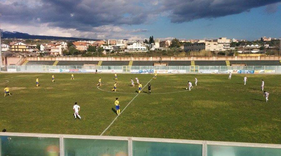 Calcio, il Giarre inciampa a Paternò