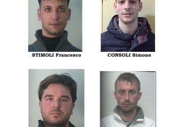 Catania, blitz dei CC a San Cristoforo: 4 arresti