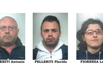 Catania, famiglia di Biancavilla dedita al furto. Sorpresi e arrestati in 4