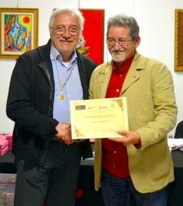 José Russotti premiato dall'associazione Asas di Messina