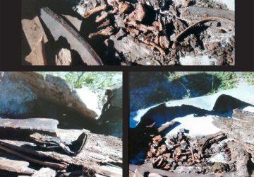 Randazzo, ritrovata vecchia bara con resti umani