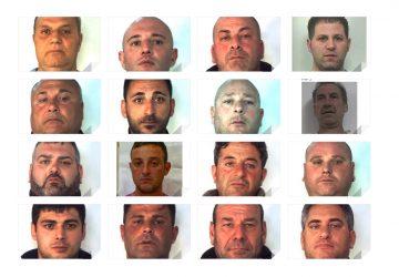 """Paternò fa """"en plain"""" con 16 arresti di mafia FOTO e VIDEO"""