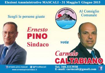 Elezioni Mascali: a colloquio con Carmelo Caltabiano