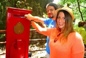 I primi innamorati  alla Terrazza dell'Amore del Parco Botanico e Geologico Gole Alcantara