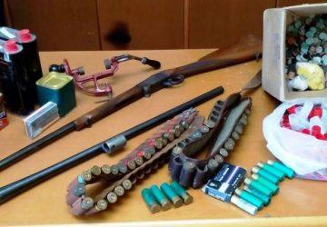Mascali: armi, munizioni e mezzi rubati. In manette pregiudicato