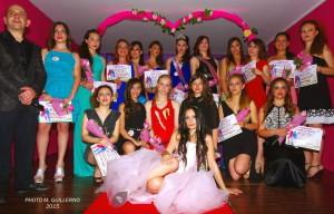 Il gruppo delle Miss Senior