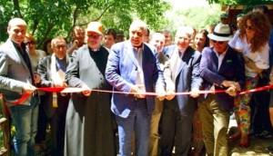 Inaugurazione Terrazza dell'Amore del Parco Botanico e Geologico Gole Alcantara