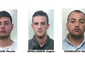 Paternò, servizio anticrimine: 3 arresti