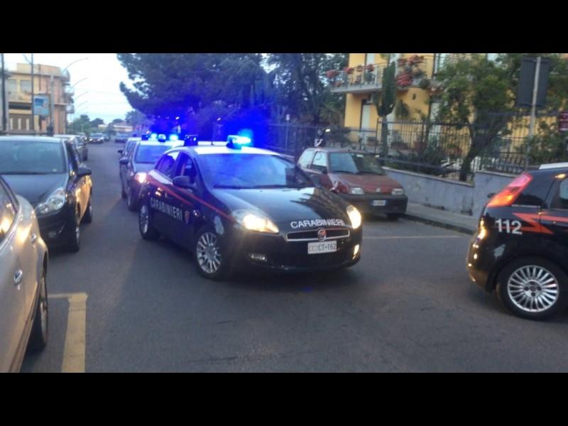 Riposto, un arresto per spaccio. Blitz dei carabinieri in via Libertà