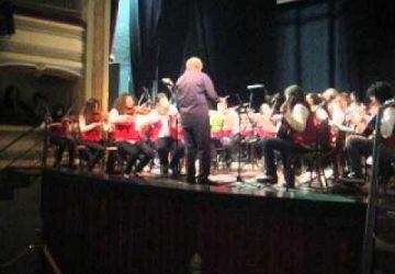Linguaglossa: trionfo musicale dell'orchestra Pirandello