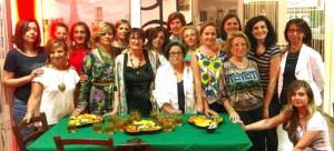 Dirigenti e socie della Fidapa di Francavilla al Bar Taboo in occasione del rinnovo delle cariche sociali