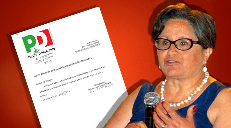 Francavilla, il Pd scrive a Monea sul problema rifiuti