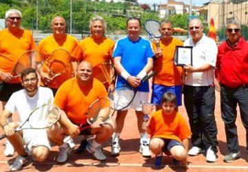 """""""Real Naxos"""" campione provinciale Uisp di tennis"""