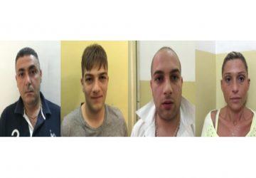Catania: trovati 5,5 kg di coca. Quattro arresti