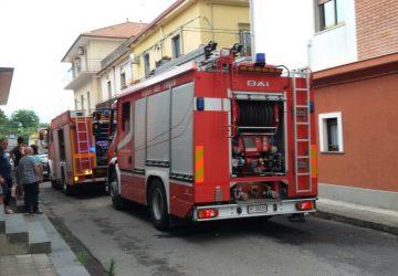 Mascali, incendio in una abitazione