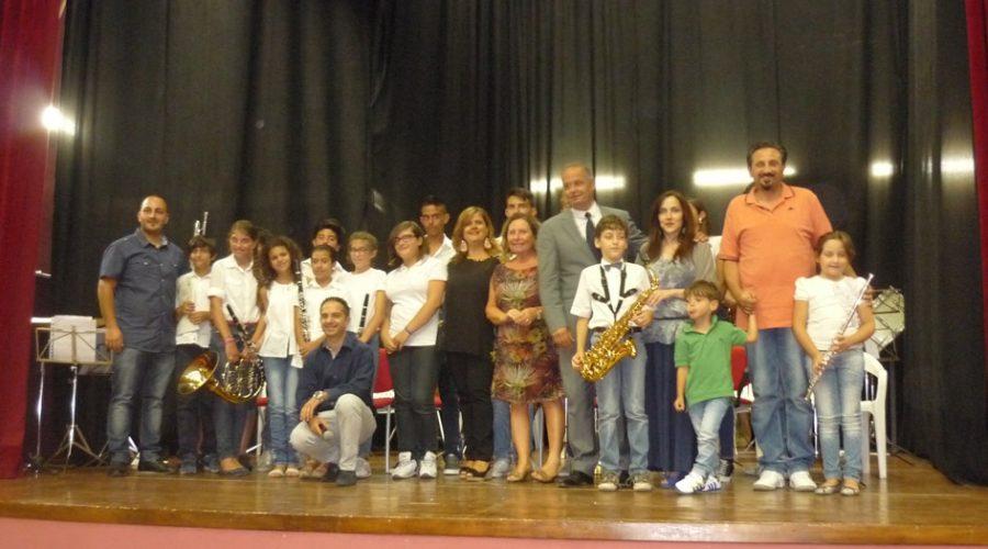Calatabiano: successo per il saggio della banda musicale giovanile