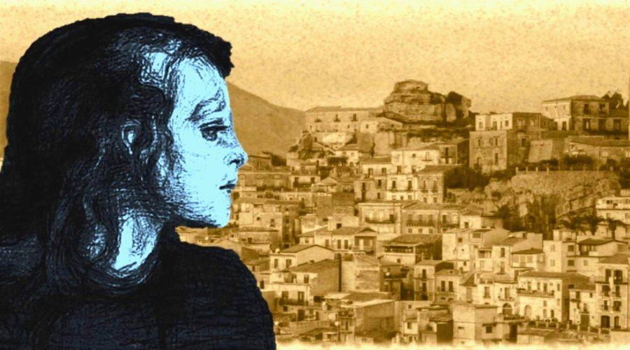 """Castiglione di Sicilia e la ragazza """"tutta blu"""""""