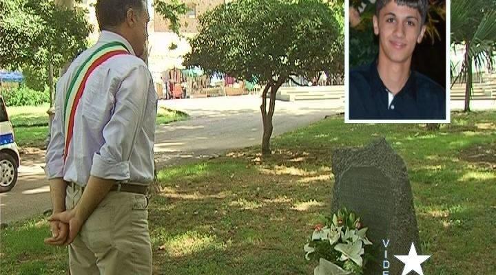Adrano ricorda il 19enne Rosario Ranno: ucciso 3 anni fa alla villa comunale