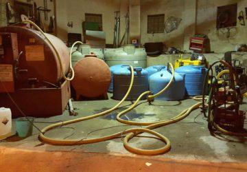 Catania: scoperto distributore di carburante abusivo. Sette arresti