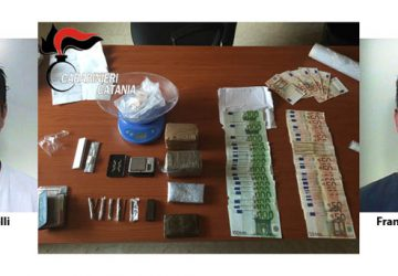 Blitz antidroga a Biancavilla: due arresti VIDEO