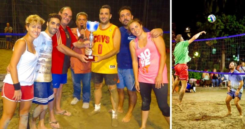 """Primo torneo """"Gole Alcantara"""" di Beach Volley"""