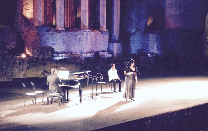 Taormina: un concerto da ricordare con una incisione!