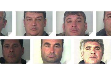 Catania: arrestati 8 estortori dei Santapaola FOTO e VIDEO