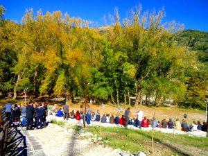 Francavilla di Sicilia, l'anfiteatro naturale all'aperto  del Parco Suburbano Madonna Gala
