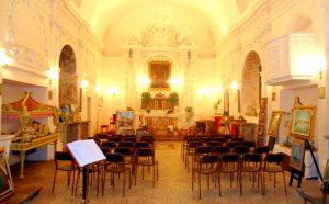 Calatabiano, l'interno della chiesa di Gesù e Maria