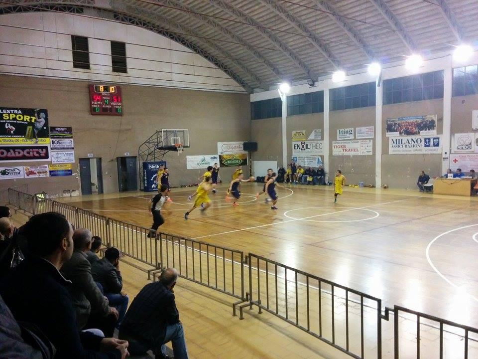 Il basket giarre prova a rialzarsi contro il cus catania for Giardini 82 gravina