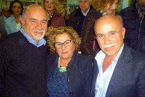 I figli di Salvatore Incorpora. Da sinistra Giovanni, Gemma ed Egidio