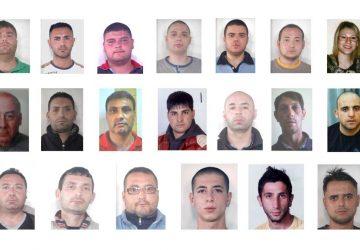 Droga, rapine e sequestro di persona: blitz tra Adrano e Biancavilla. Arrestate 26 persone I NOMI, LE FOTO, IL VIDEO