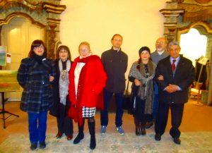 Francavilla di Sicilia, alcuni artisti espositori della Galleria Katane a Palazzo Cagnone