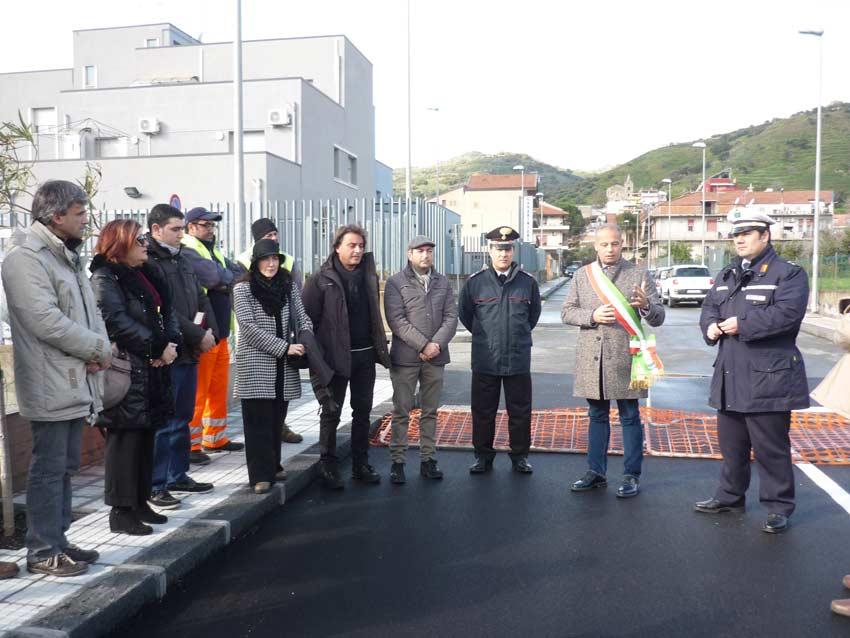 Calatabiano: inaugurato il prolungamento di via Oberdan