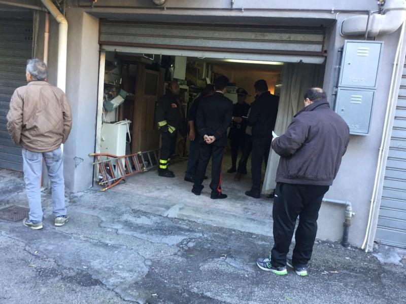 Incidente domestico s giovanni montebello domani i for Laboratorio di garage domestico