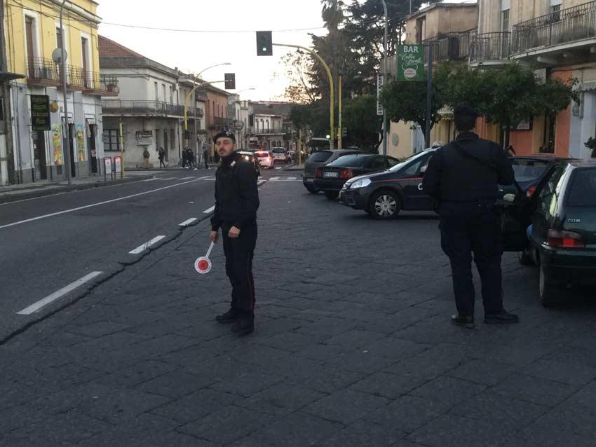 Mascali, ordinanza di aggravamento per un 31 catanese che aveva minacciato i carabinieri