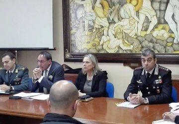Adrano, si riunisce il Comitato Provinciale per l'Ordine e la Sicurezza Pubblica