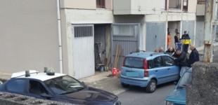 Riposto, scoperta santabarbara in un garage di via Ligresti  VIDEO