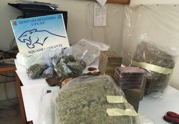 Catania: 63enne beccato con 13 chili di droga