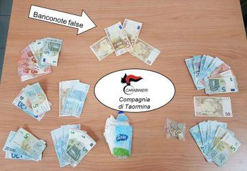 Taormina, spendevano soldi falsi. Arrestati due adraniti