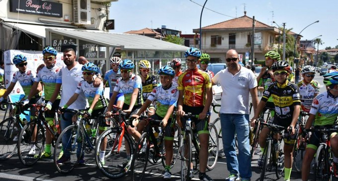 Ciclismo: terza vittoria consecutiva per il Team Toscano Giarre