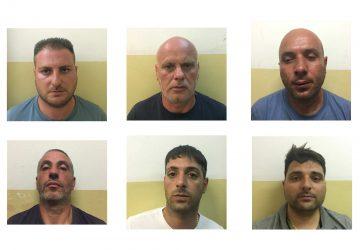 Catania: beccati con 8 kg di cocaina, valore 2.000.000 euro. Arrestati in sei VIDEO