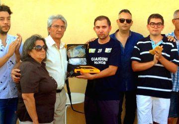 Giardini Naxos: defibrillatori in campo