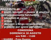 Raccolta pro vittime del terremoto Centro Italia: gli appuntamenti nella zona jonica con Croce Rossa