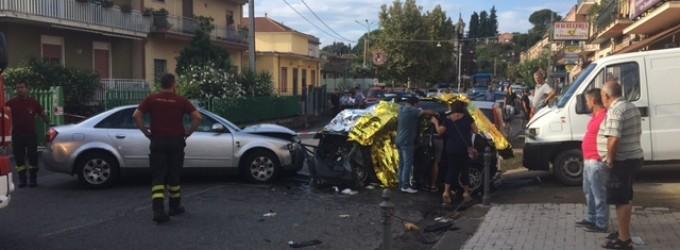 Giarre, incidente mortale a San Leonardello. Vittima una donna di 35 anni  VIDEO