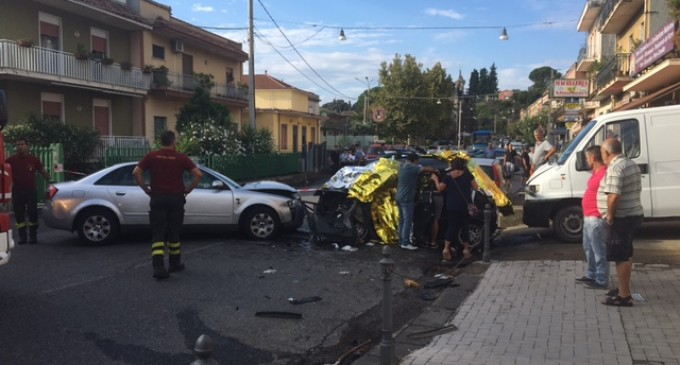 Incidente a San Leonardello, muore una 33enne